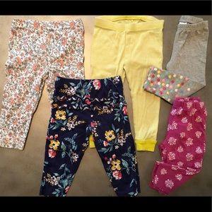 Carters 12mo legging bundle (5)